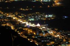 Gliaca in festa  (ME) Sicilia (ninoziino) Tags: sea night riviera italia mare chiesa sole festa notte sicilia messina notturno chiese notturni piraino gliaca gliacadipiraino