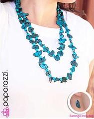 Glimse of Malibu Blue Necklace K3A P2730A-1