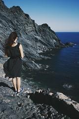 the sea is calling (januarychild) Tags: sea cliff france digital canon seashore