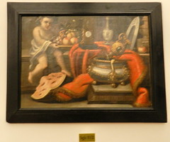 Pinturas Museo Palacio Pedro I Astudillo Palencia 26 (Rafael Gomez - http://micamara.es) Tags: pinturas museo palacio pedro i astudillo palencia real monasterio de santa clara pintura coleccion exposicion religiosa