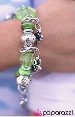 Glimpse of Malibu Green Bracelet K1 P9430A-1