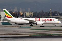 Ethiopian Airlines | Boeing 787-8 | ET-ASH | Los Angeles International (Dennis HKG) Tags: plane canon airplane airport aircraft 7d boeing et eth ethiopian planespotting 787 staralliance 100400 ethiopianairlines dreamliner 7878 boeing787 etash boeing7878