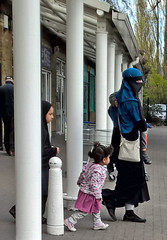 East London Muslimahs (Aisha Niqabi) Tags: niqab abaya khimar