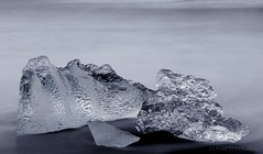 the great diamonds from the North (lunaryuna) Tags: longexposure abstract macro ice iceland le icefloes lunaryuna diamondbeach glacialice natureabstract jokulsarlonglacierlake seasonaldiamonds