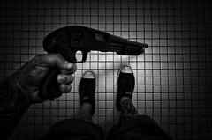 Untitled (jw112) Tags: monochrome dark shotgun ricoh ricohgr mossberg jme