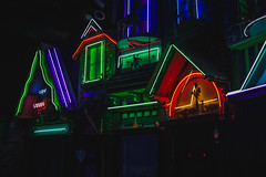 IMG_6608 (CassinStacy) Tags: new mystery museum mexico wolf neon spooky fantasy meow fe trippy sante