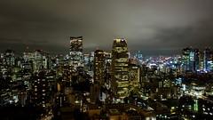 Tokyo City View (EHaliM) Tags: travel panorama beautiful japan night lights tokyo nice view tokyotower fujifilm fujifilmxt1
