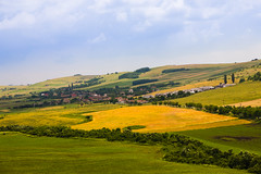 The countryside (Raoul Pop) Tags: trees houses summer season countryside village hills romania crops ro transilvania rollinghills tarnaveni