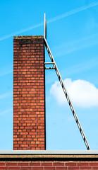 URBANity II (Lunor 61) Tags: sky urban abstract lines bricks minimal textures schornstein abstrakt linien minimalismus smokestacke