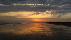 20150716_214134 (~loloflu~) Tags: sunset seascape atardecer huelva nubes nuages paysage espagne plage coucherdesoleil andalousie