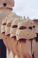 La Pedrera (Shahrazad_84) Tags: barcelona art museum architecture spain genius casamil gaud lapedrera