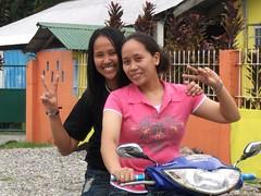 2 sisters (JUST THE PHILIPPINES) Tags: girl beautiful asian asia pretty lipa manila filipino batangas ate filipina garcia oriental kuya jeepney calapan dose valenton batino