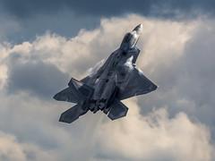 F-22A Raptor (Steve Cooke-SRAviation) Tags: canon 500mm usaf f15eagle f15e f22raptor f15c tyndallafb 325fw 95fs usafe raflakenheath 492fs 48thfighterwing 494fs 493fs 5d3 sraviation rapidraptordeployment