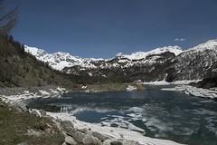 Lago del Devero 3 (Ciak88) Tags: panorama mountain snow alps verde primavera ice nature water lago spring nikon natura neve niko acqua alpi montagna mou ghiaccio devero alpedevero d5300
