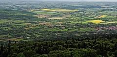 view from the top of Holycross Mts. (stempel*) Tags: panorama mountains 50mm pentax poland polska polen gry polonia holycross krzy oblaci klasztor k30 wity witokrzyskie mso gambezia