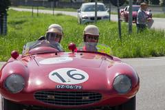 Mille Miglia 2016 (Fabiano Lecce) Tags: auto red italy sun cars car race vintage spring traditions motors motor 16 vintagecars lodi mille miglia castiglione millemiglia 2016 allaperto veicolo fabianolecce