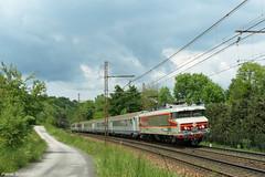 La CC 6570 sous un rayon de soleil (pierre141f282) Tags: train cc locomotive chambry savoie sncf albertville lectrique aixlesbains 6500 6570 tresserve