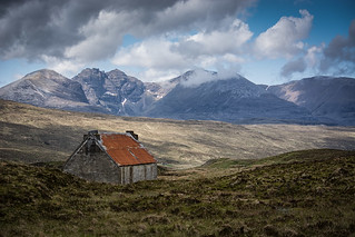 An Teallach and the old house