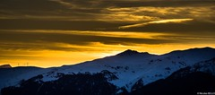 Les Arcs - les Alpes - France (belzebello) Tags: light sunset sky cloud snow france mountains nature beautiful night alpes landscape amazing sony lumiere paysage montains