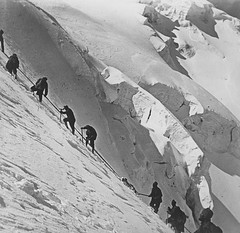 Ortler guns (7cm.) being hauled up Ischiefeck mountain (3400m high) during WW1 20th June, 1916 [594  577] #HistoryPorn #history #retro http://ift.tt/1UWloC6 (Histolines) Tags: mountain history up june during high being retro timeline guns ww1 20th 577 1916  594 vinatage hauled ortler 7cm 3400m historyporn histolines ischiefeck httpifttt1uwloc6