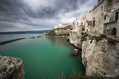 Contrasts of a cold spring (luigig75) Tags: sea italy clouds canon landscape italia puglia vieste mustsee gargano 70d efs1022mmf3545usm