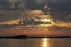 Golden coastal twilight scene 1 (Nicholas Duell) Tags: sky cloud sun beach landscape twilight australia melbourne victoria coastal sunsetsunrise