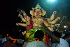 Ganesh Visarjan 2010 (Bangalore) 101 (umakant Mishra) Tags: bangalore hindureligion ganapati visarjana bangaloreevents umakantmishra soubhagyalaxmimishra ganeshvisarjana ursoorlake