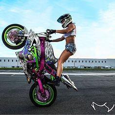Real Biker Women _ki (BikerKarl2013) Tags: real store women badass helmet motorcycles stuff motorcycle biker ki