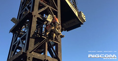 Rope-Access-Tower-Crane-Rescue-Demo-2 (RIGCOMAccess) Tags: sydney towercrane ropeaccess standbyrescue towercranerescue