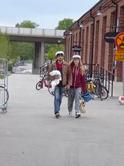 School leavers (seikinsou) Tags: school summer hat festive midsummer sweden graduate celebrate occasion umea leaver