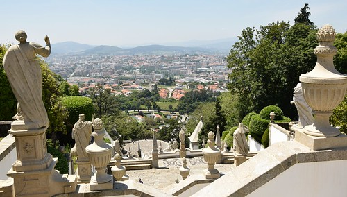 Braga, view from Bom Jesus