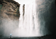 Wake up! (Bazzerio) Tags: wake up bazzeiro 35mm analogue film waterfall iceland vintage travel explore discovery water mountain nordic nordicvisitor
