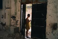 in a doorway (gorbot.) Tags: leicam8 carlzeiss35mmbiogonf2zm mmount rangefinder vscofilm roberta palermo zisa