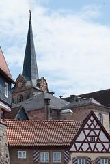 German steeple (quinet) Tags: germany 2012 kulmbach castleroad burgenstrase