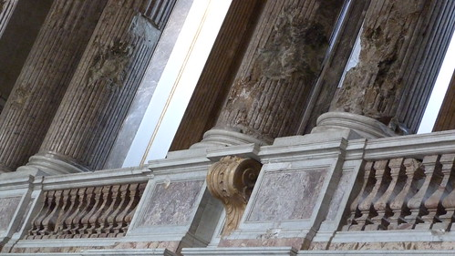Reggia Caserta - Bourbon royal palace, chapel, war damage