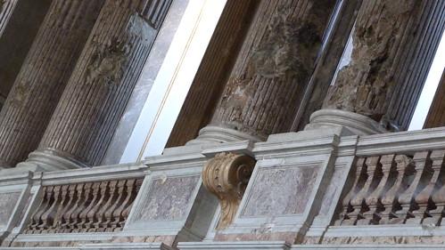 Reggia Caserta - Bourbon royal palace, chapel, war damage