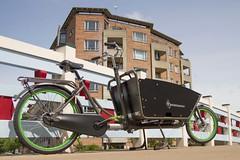 WorkCycles Kr8 Grey-Green-2 (@WorkCycles) Tags: family dutch amsterdam bike bicycle box transport bak cargobike bakfiets bakfietsen workcycles kr8