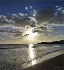 Portugal sunset (FayeRae74) Tags: sunset beach portugal albuferia