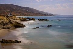 Leo Carillo (Stevowa) Tags: tower beach nikon leo lifeguard malibu carillo nd110 d7100