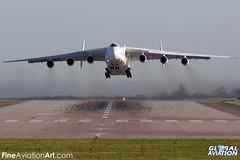 UR-82060 - Antonov An-225 Mriya (Dream) - Antonov Design Bureau (KarlADrage) Tags: aviation cargo ema adb eastmidlandsairport an225 mriya antonovdesignbureau egnx transportaircraft ur82060 antonovan225