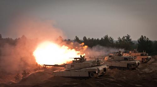 NATO WAR GAMES ON RUSSIA'S BORDER