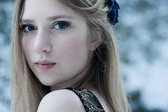 unremembered thoughts (lia_niobe) Tags: portrait snow cold beauty face look closeup female lianiobe