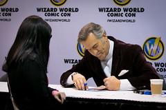Bruce Campbell (JarrodLopiccolo) Tags: world costumes comic wizard bruce nevada books sierra fans reno marvel sierranevada campbell comiccon attendees vendors wizardworld renoconventioncenter