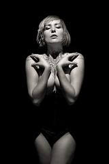 Semi Nude Woman (dgilder) Tags: woman usa art female nude photography model montana leah flash missoula studioshot nudewoman strobe fineartphotography artphotography nudewomen oneflash canonspeedlite ef50mmf12lusm canon5dmkii 600exrt leahvelocity