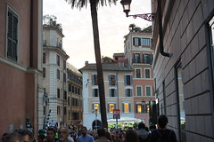 DSC05841 (10_Days_in_Rome) Tags: street old city travel bridge november windows light shadow red vacation urban italy orange cloud white rome roma tower window yellow clouds zeiss photography haze italia cityscape shadows walk sony horizon streetphotography e tiber tevere hazy top20 oldtown lazio csc pontesisto carlzeiss sisto tibre latium a7r sel55f18z ilce7r sonnartfe55mmf18za sonnartfe1855
