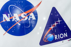 NASA & Orion Logos