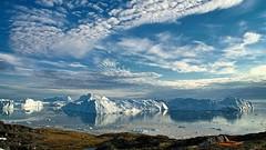 Grounded (loveexploring) Tags: sea seascape greenland iceberg worldheritage ilulissat diskobay baffinbay westgreenland ilulissaticefjord