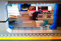 Aurora Hangar Side View (LegoSpaceGuy) Tags: brick ship lego space scifi spaceship sci starship moc classicspace