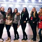 22.11.2014, nog.tekma Olimpija:Domžale, hostese Agencija 22