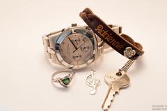 Mementos (AdrienneCredoPhotography) Tags: keys nikon soft box disneyland watch jewelry ring giving marc bracelet jacobs softbox d3200